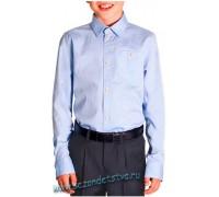 Сорочка голубая с налокотниками