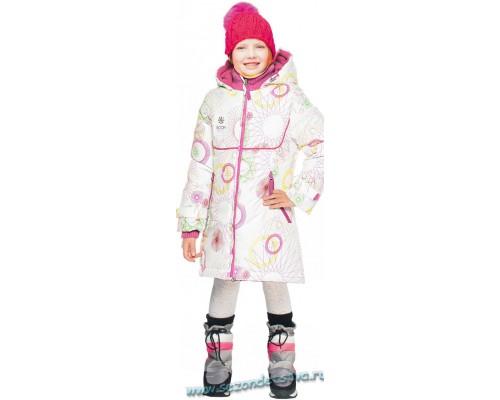 Пальто белое 62076/2 Orby