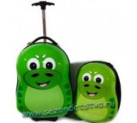 Набор чемодан+рюкзак