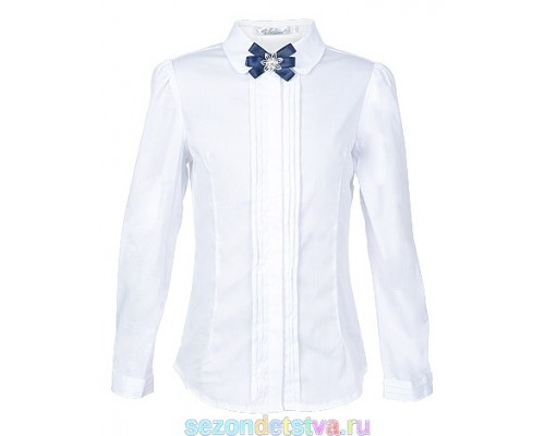 Блузка с брошью 2153006L-01 Vitacci