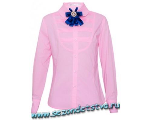 Школьная форма для девочки - Блузка розовая Vitacci
